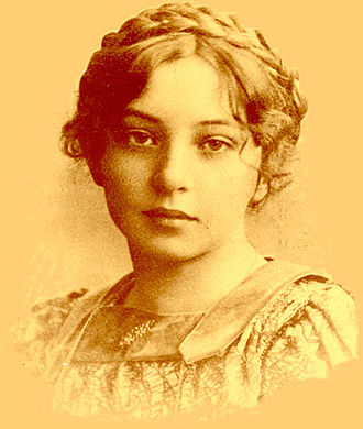 Sigrid Undset - Undset as a young girl