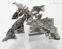 Elektrolytiskt har raffineret sølv.