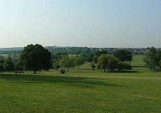 Brent Reservoir - Image: Silver jubilee park