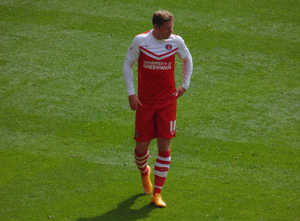 Simon Church - Church playing for Charlton Athletic in 2015