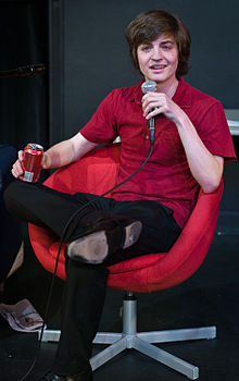 Simon Rich on WFMU's Seven Second Delay in 2009.jpg