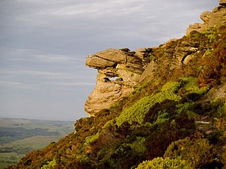 Tosson Hill - Simonside Crag, on the eastern slopes