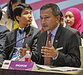 Singapore Foreign Minister Vivian Balakrishnan speaks at the East Asia Summit (29965116508) (cropped).jpg