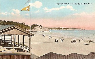Manchester-by-the-Sea, Massachusetts - Singing Beach in 1914