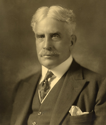 Sir Robert Borden, Prime Minister of Canada (1911–1920).