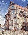 Sisley - Die Kirche von Moret im Morgengrauen.jpeg