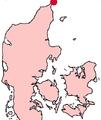 Skagen Denmark location map.png
