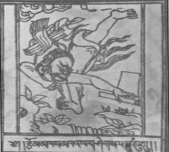 Sahaja - A sketch of Siddhacharya poet Kanhapada