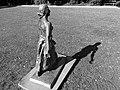 Skulptur, 1933, Säerin, Schreitende in Riehen von Jakob Probst 4.jpg