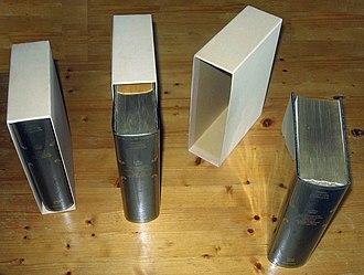 Slipcase - Books and slipcases