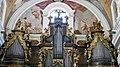 Slovénie, Ljubljana, Cathédrale Saint-Nicolas (Stolnica svetega Nikolaja), Grandes orgues dont le buffet et les décorations sont l'oeuvre de Löhrova (1736-1737) (45196158935).jpg