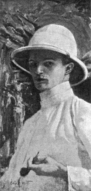 Miloš Slovák - Miloš Slovák, The self-portrait 1909