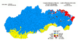Hungarians in Slovakia (according to the 2011 census)
