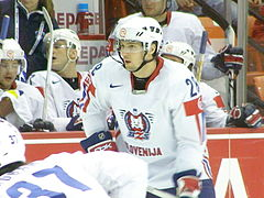 Slovenia VS USA (IIHF World Hockey Championship in Halifax NS, May 4 2008).jpg