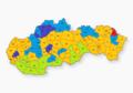 Slovensko parlamentné voľby 1990 okresy.png