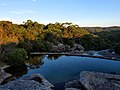 Small Rock Pond, Wattamolla Creek. Coastal Track near Wattamolla Beach - panoramio.jpg
