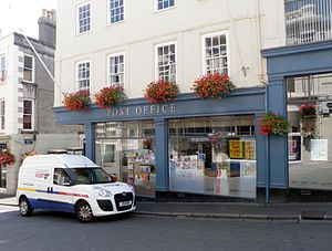 Guernsey Post - Image: Smith Street Post Office, St. Peter Port, Guernsey