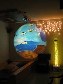 Sensory Room Soothing Yet Stimulating Small Space