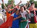 Soccer fans poland italy.jpg