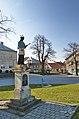Socha Jana Nepomuckého na náměstí, Protivanov, okres Prostějov.jpg