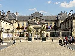 L'hôtel de ville de Soissons