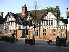 Solihull Manor House, Engeland (ca 1496)