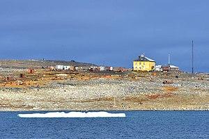 Bolshevik Island - Image: Solnechnaya Bucht 2 2014 08 29