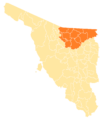 Sonora Municipios II Distrito Electoral Federal.png