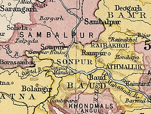 Baudh State - Baudh State in the Imperial Gazetteer of India