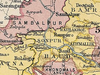 Sonepur State former princely state of British India