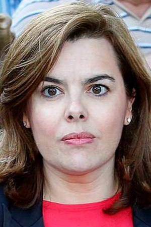 Ministry of the Presidency (Spain) - Image: Soraya Sáenz de Santamaría 2015b (cropped)