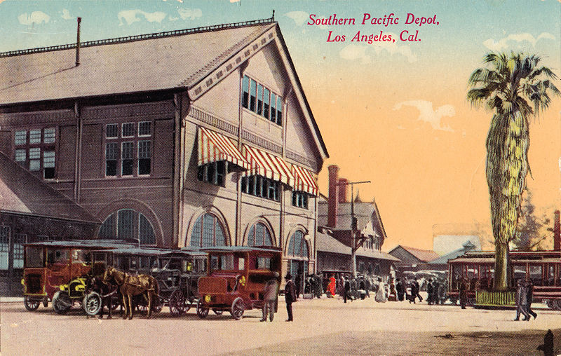 File:Southern Pacific Depot, Los Angeles, Cal. postcard.jpg