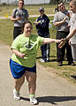 Special Olympic athletes and local volunteers participate in Special Olympics, on Fort Gordon, Ga., Mar. 24 2010 100324-A-NF756-029.jpg