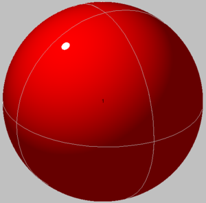 Sphere packing in a sphere - Image: Spheres in sphere 01