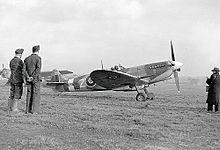 Supermarine Spitfire (late Merlin-powered variants) - Wikipedia