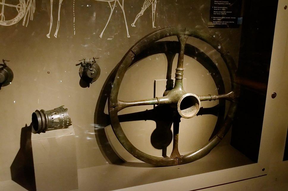 Spoked wheel from Arokalja