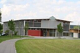 The new sports hall of the municipality Grünkraut