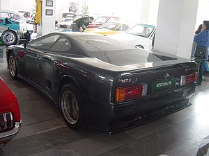 MTX Tatra V8 - Rear view