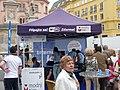 Stánek Modrého týmu, Městečko řešení, Brno.jpg