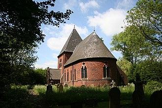 Burringham - Image: St.John the Baptist's church, Burringham geograph.org.uk 181561