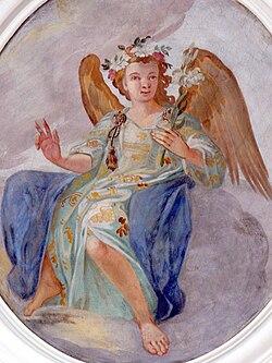 St.Michael - Deckenfresco Engel Gabriel.jpg