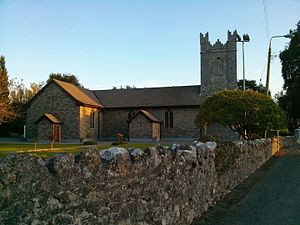 Rahan, County Offaly - St. Carthage's Church, Killina
