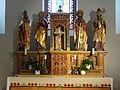 St. Laurentius (Oppershofen) Hochaltar 02.JPG
