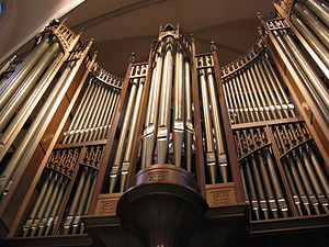 St. Martin's Episcopal Church (Houston) - Schoenstein organ in St. Martin's Episcopal Church, Houston, Texas