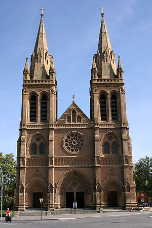 St Peter's Cathedral, Adelaide - St Peter's Cathedral, south front