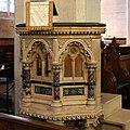 St Albans Church Copenhagen pulpit (cropped).jpg