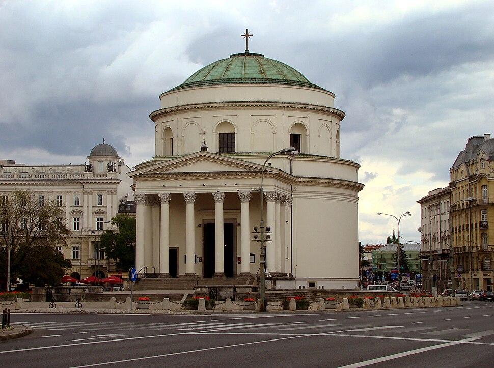St Alexander Church Warsaw