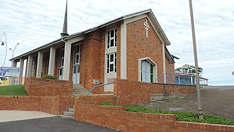 Gladstone Central - St Andrew's Presbyterian Church, 149 Goondoon Street, Gladstone Central, 2014