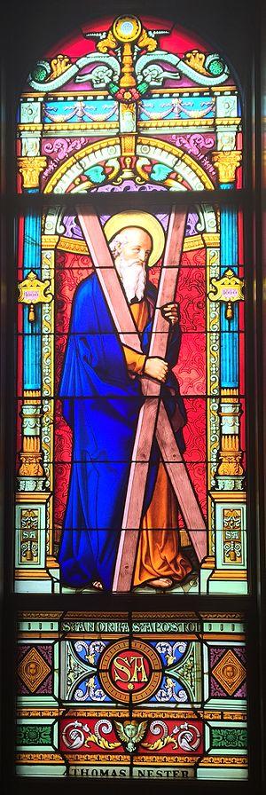St. Edward's Hall (University of Notre Dame) - Image: St Andrew St Eds Hall (Notre Dame)