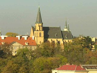 Church of St. Apollinaire, Prague